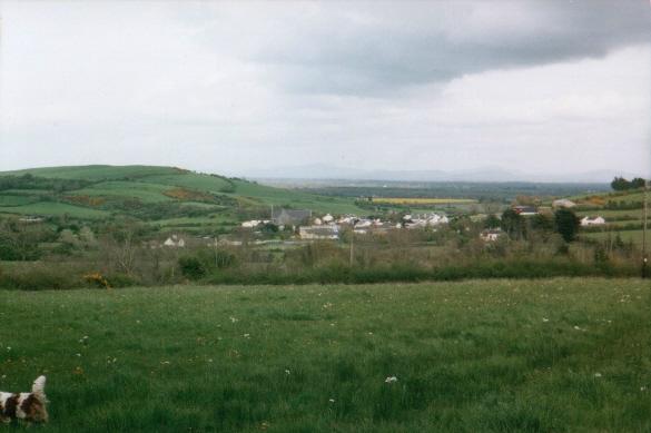 Overlooking Drangan from Corbally