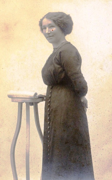 Connie (Aura Mary Constance) McMillan.