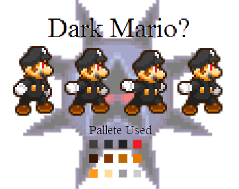 Dark Mario   ? - Shadow624 Sprites