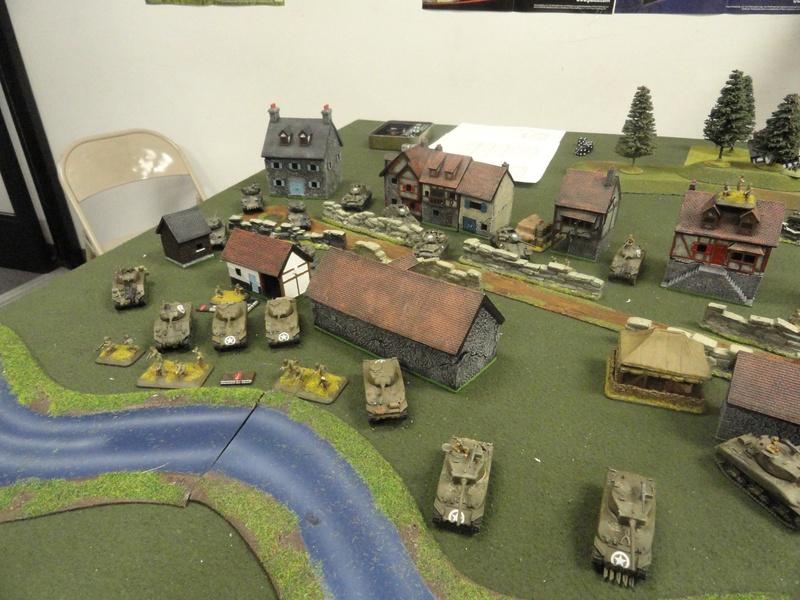 Americans seize the village