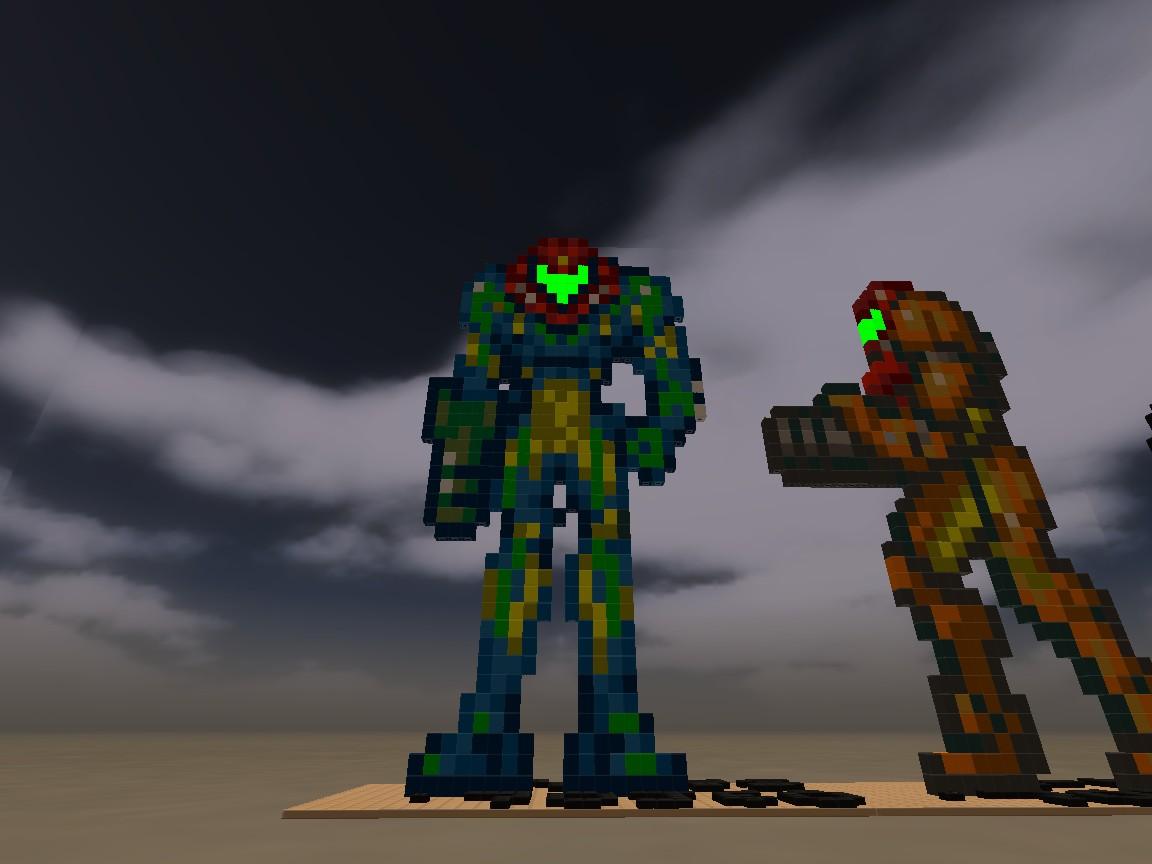 Samus Fusion Suit Sprites  Fusion Suit Samus from