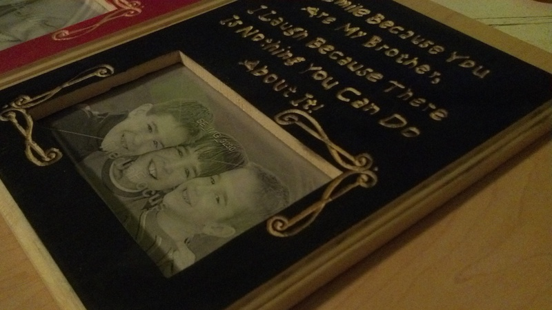 Brother Picture Frame