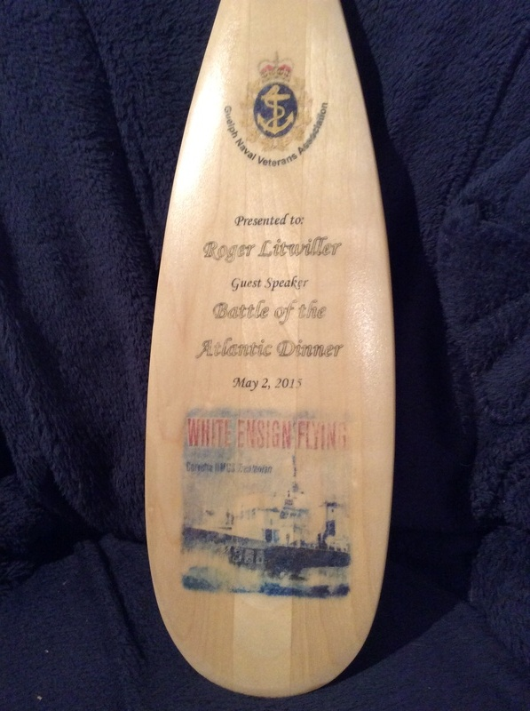 Battle of the Atlantic, Guest Speaker Gift