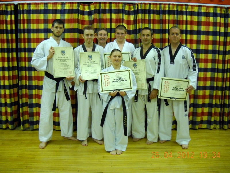 PROMOTED BLACK BELTS APRIL 2011