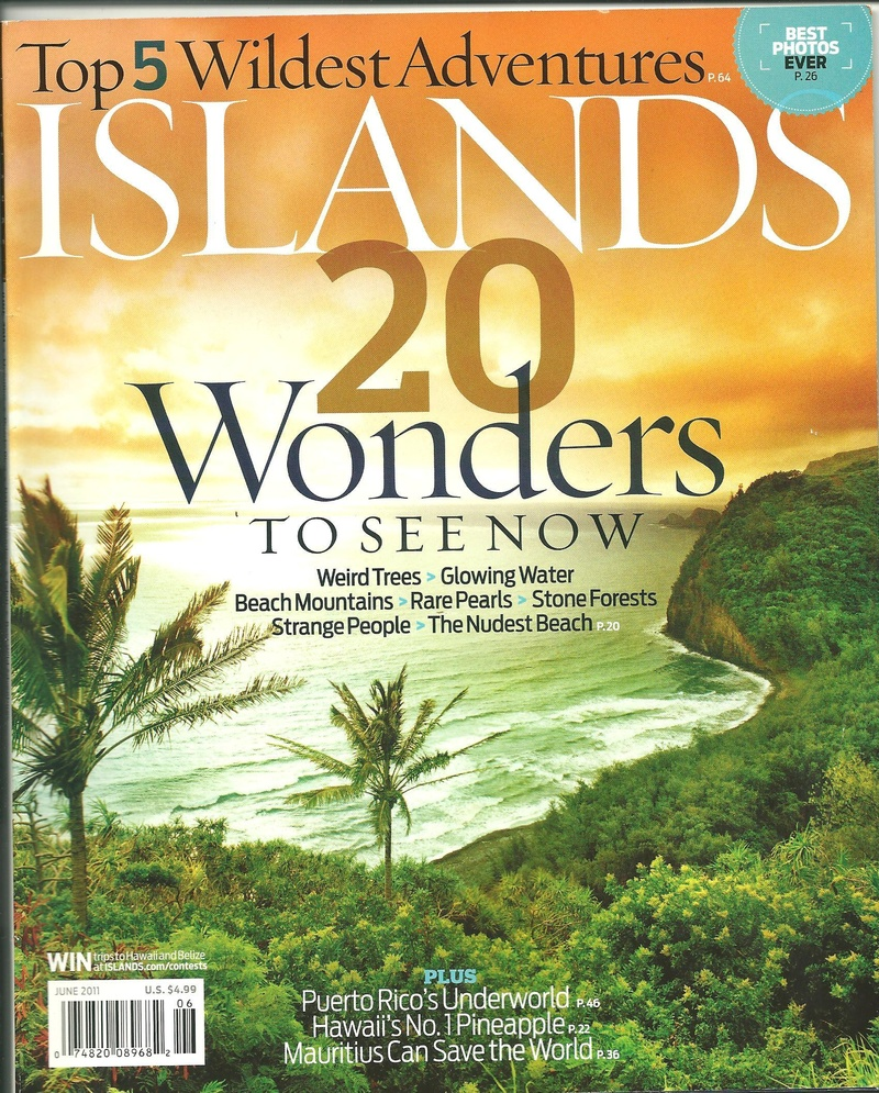 Islands Magazine June 2011