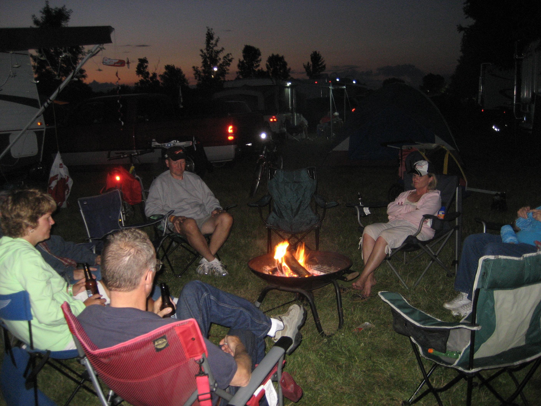 Camping At Oshkosh