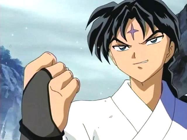 Bankotsu making a fist   Bankotsu Inuyasha