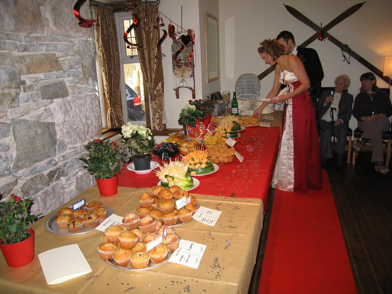 homemade buffet lunch Wedding Dresses Gowns Gothic Medieval vintage