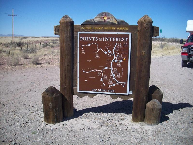 Area sign
