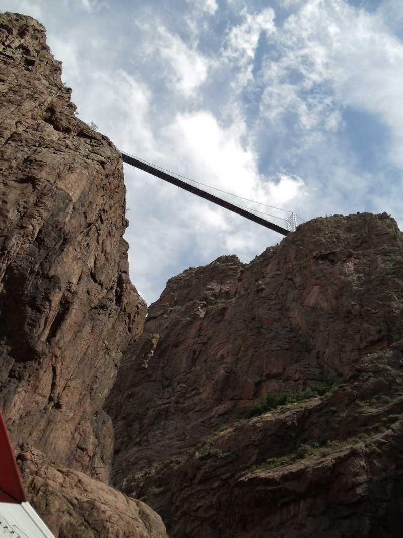 Royal Gorge from Below