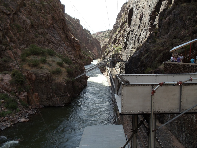 Arkansas River through Royal Gorge