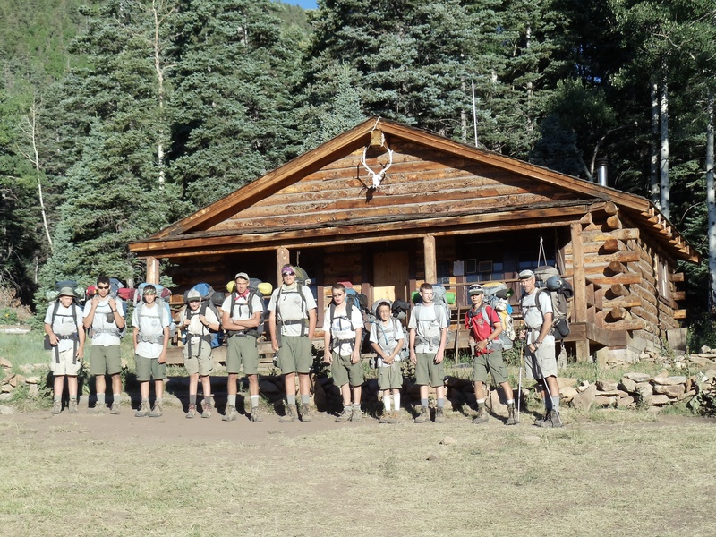 Crew 3 at Miranda Mountain Man Camp