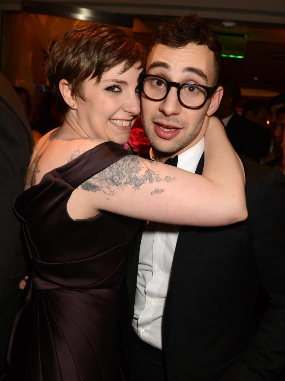 Jack Antonoff and Lena Dunam