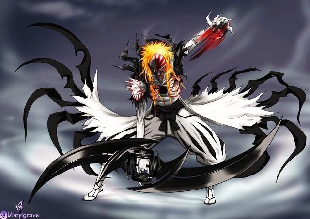 Full Hollow Form Hollow Ichigo Full Form Bleach