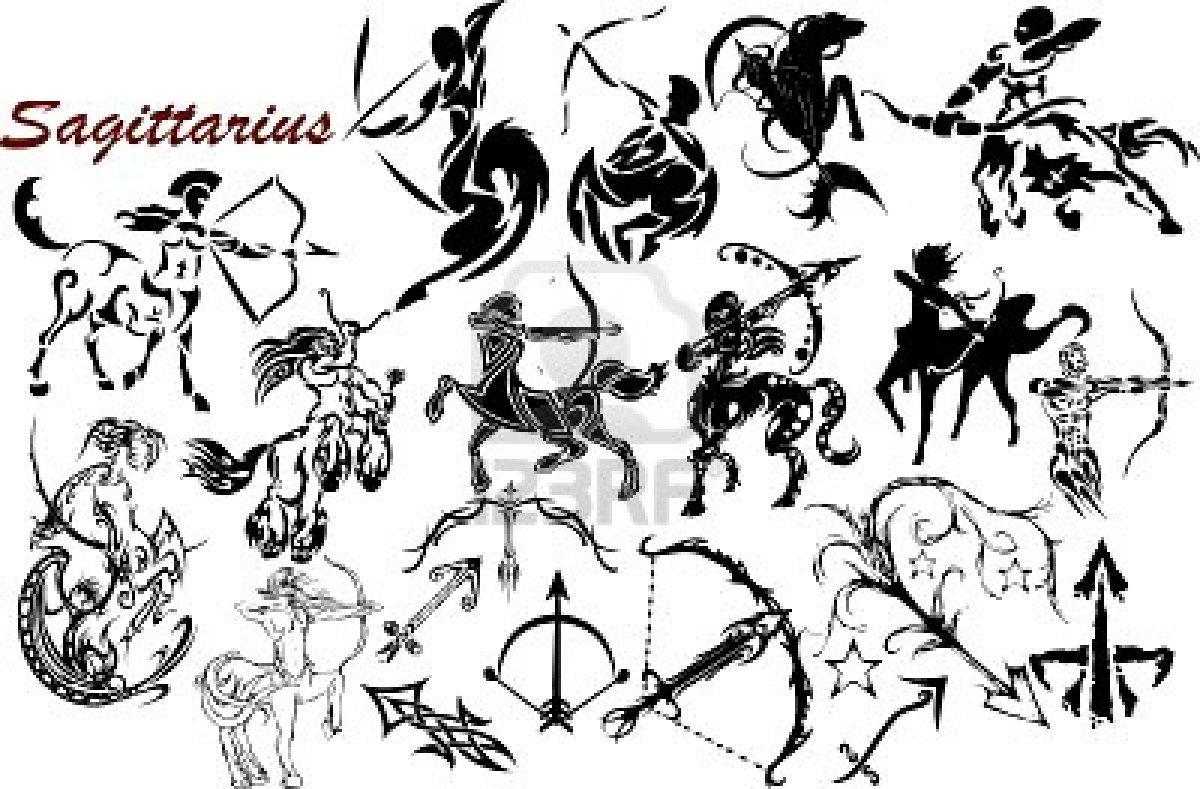 Sun-Sign Tattoo Designs