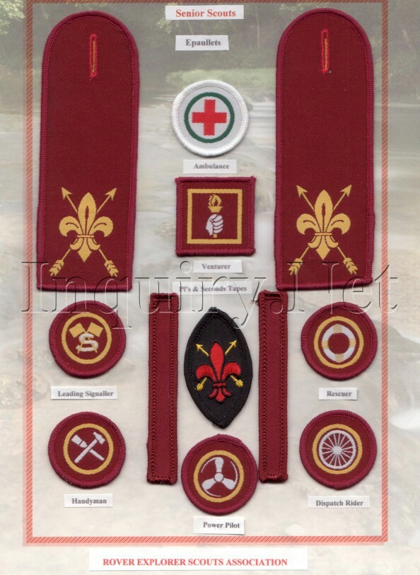 Senior Scout Badges 1