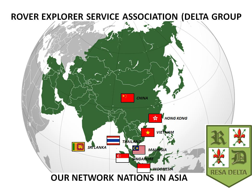 RESA Delta Network Nations In Asia