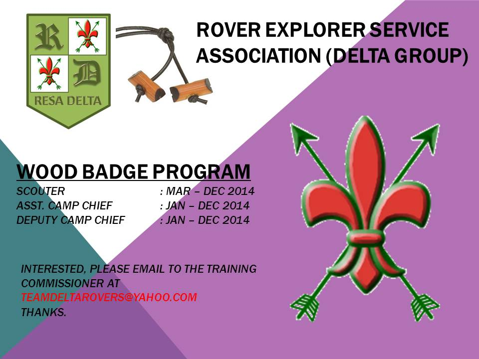 Wood Badge 2014