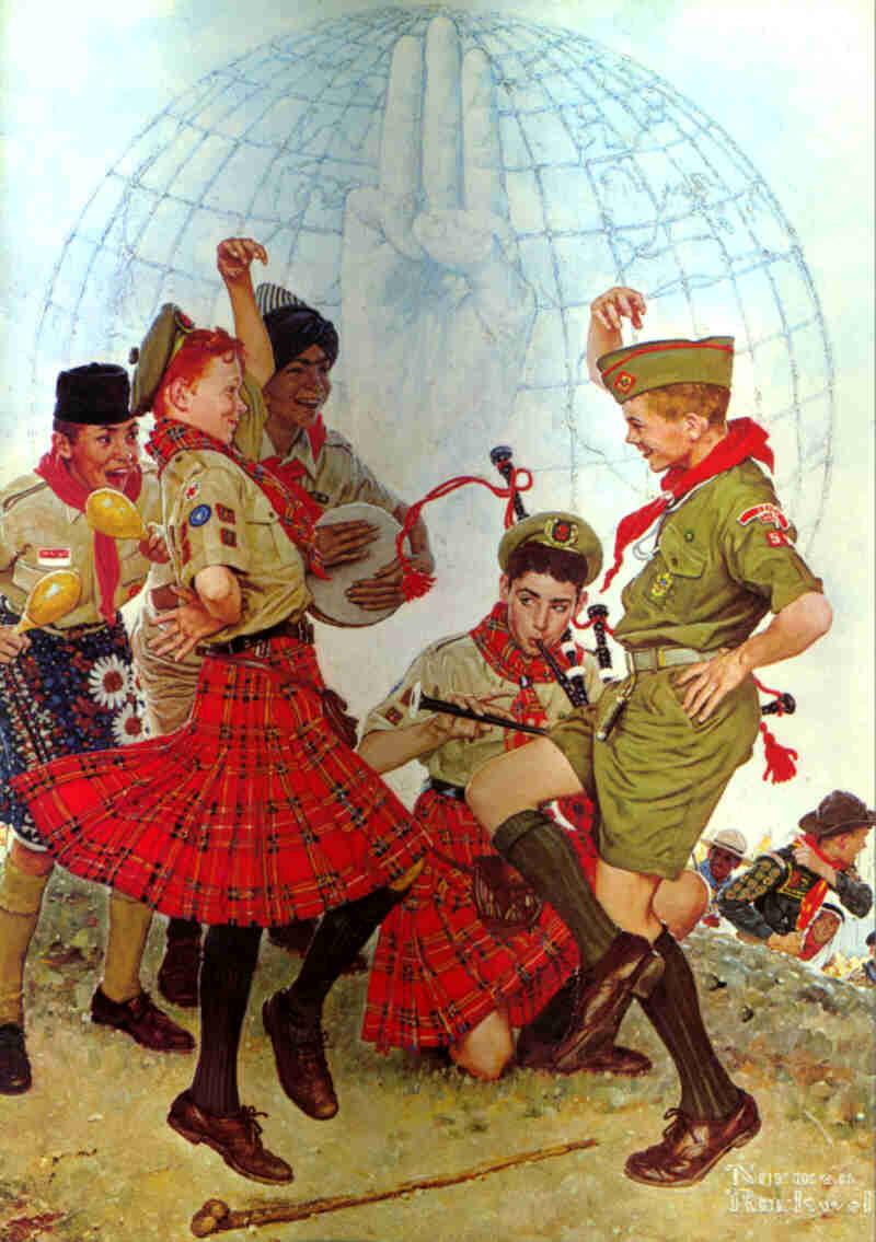 Scouts Dancing