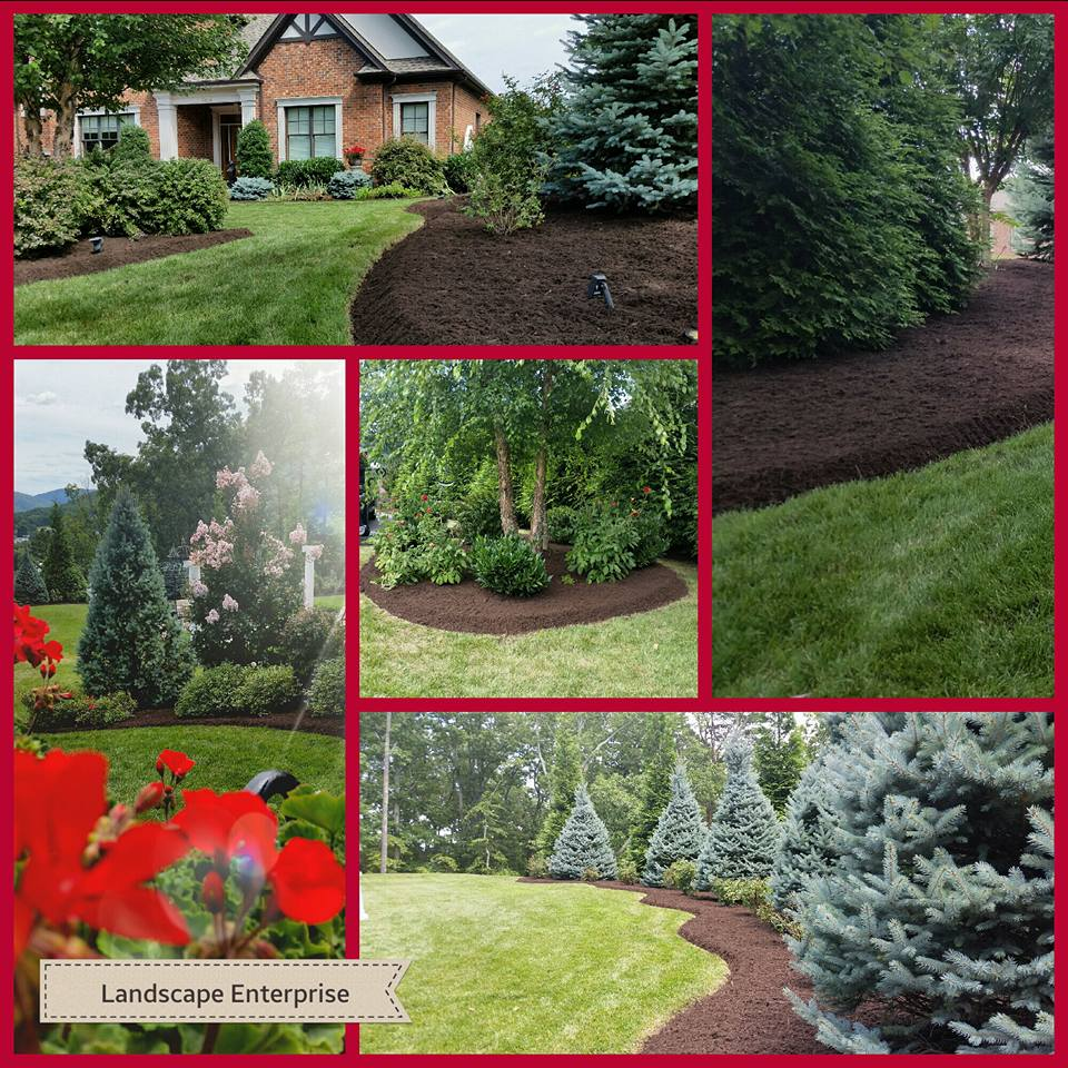 Landscaping Collage