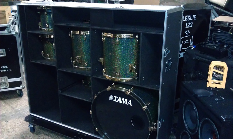 Tama StarClassic case with shell kit