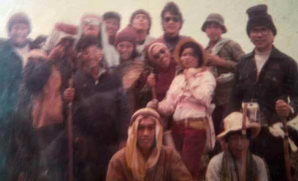 Photo from the First Kanlaon Safari