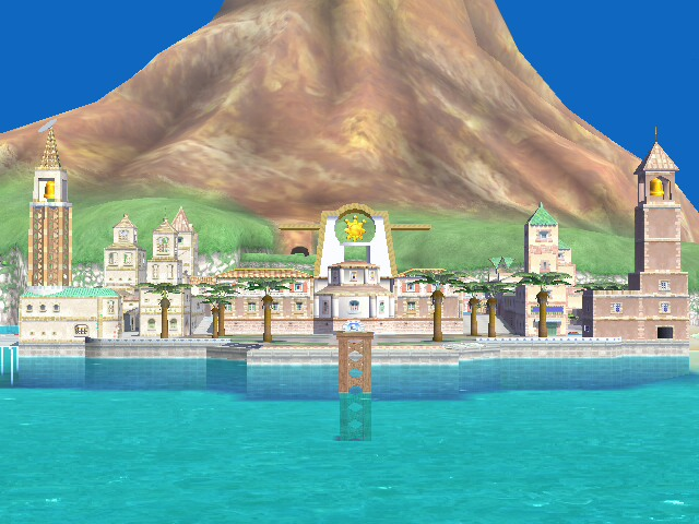 Isle Delfino:Delfino Plaza