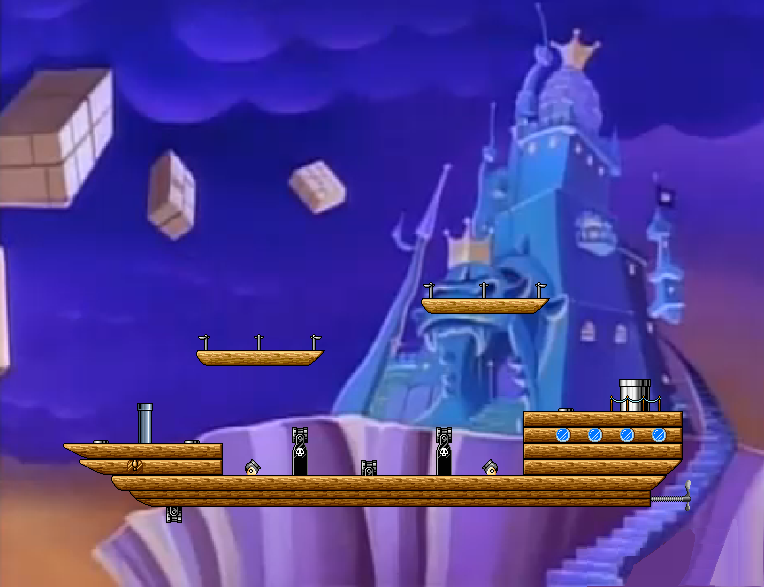 King Koopa's Castle:Doom Ship