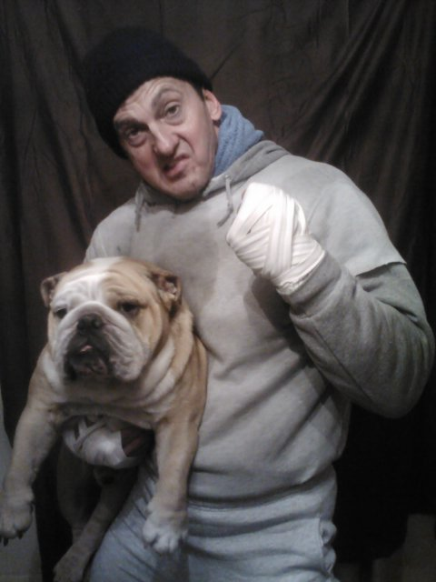 Rocky and Butkus look