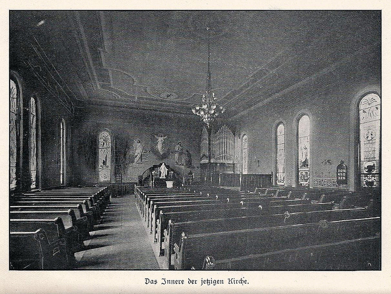 Sanctuary before 1914