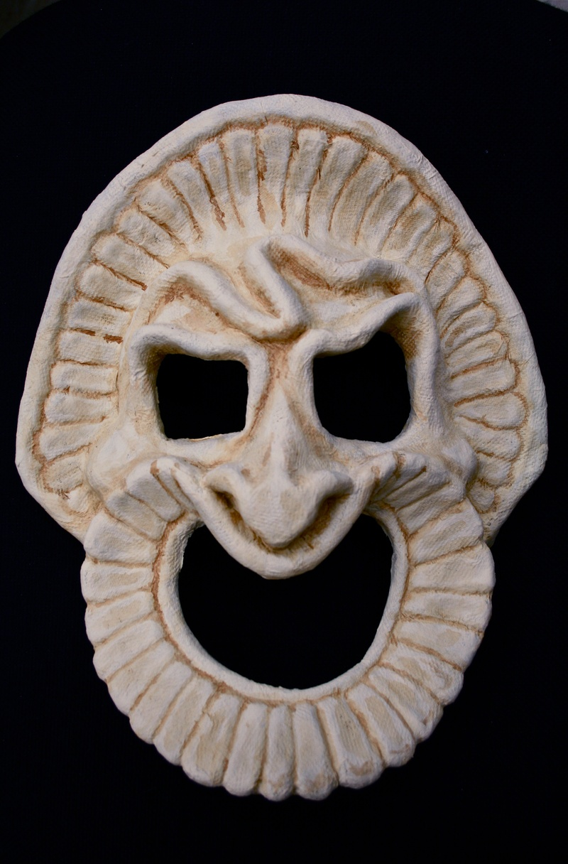 Antigone ancient mask pictures to pin on pinterest pinsdaddy for Ancient greek mask template