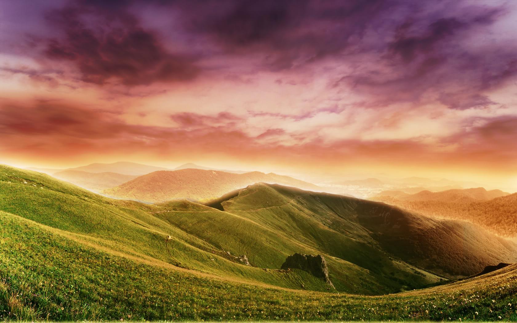 صور طبيعية خلابة خلفية صورة الوان الطيف - colorful wallpaper nature