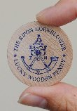 Hornblower Lucky Wooden Penny