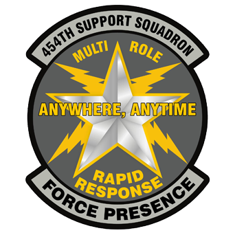 454th ASG Patch