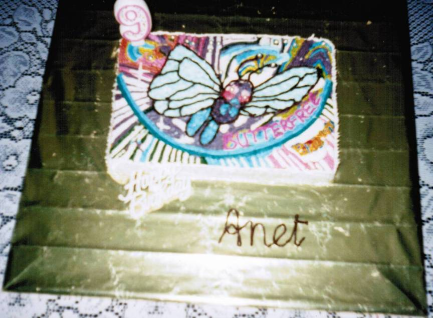 Butterfree Cake
