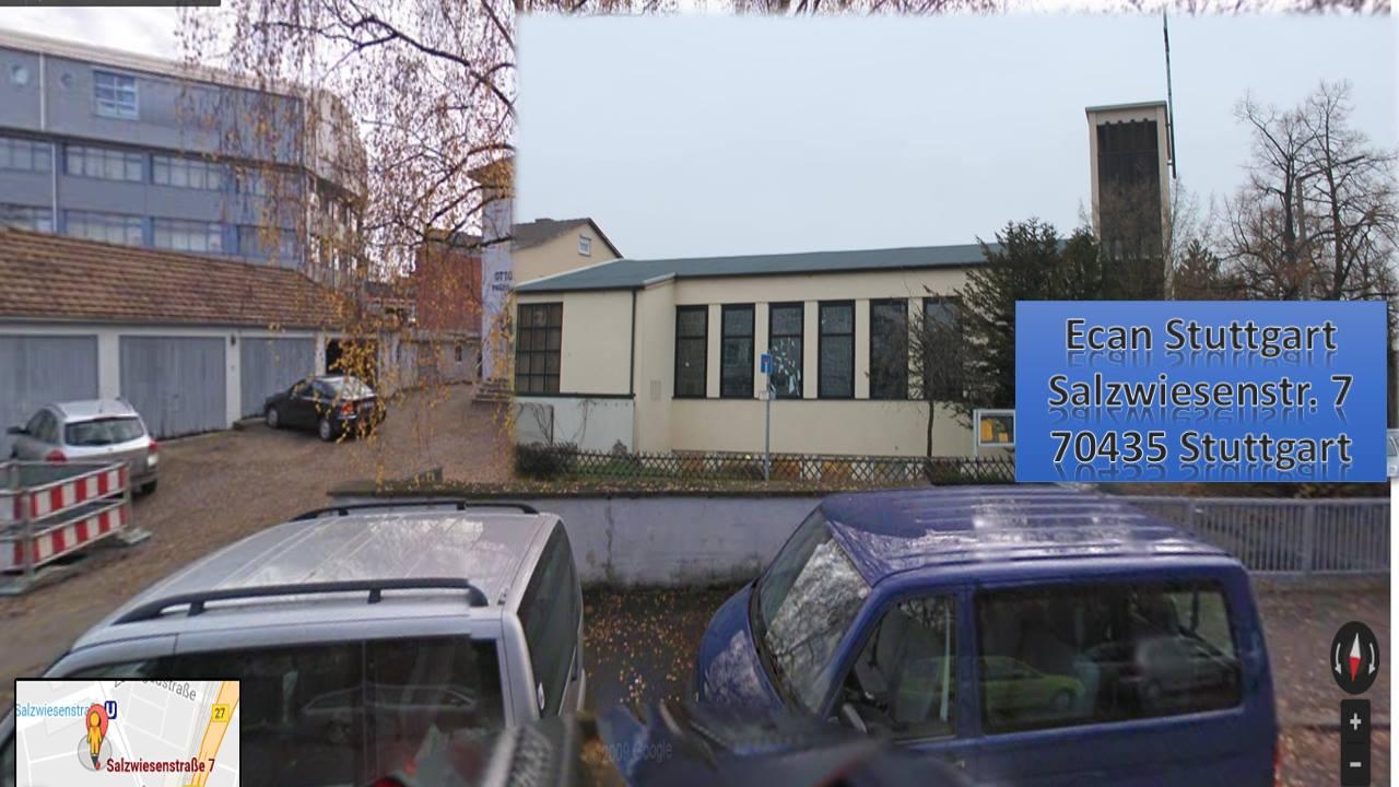 Ecan Church Stuttgart,     Salzwiesenstr. 7     ,      Stuttgart, Stuttgart,  70435, Germany