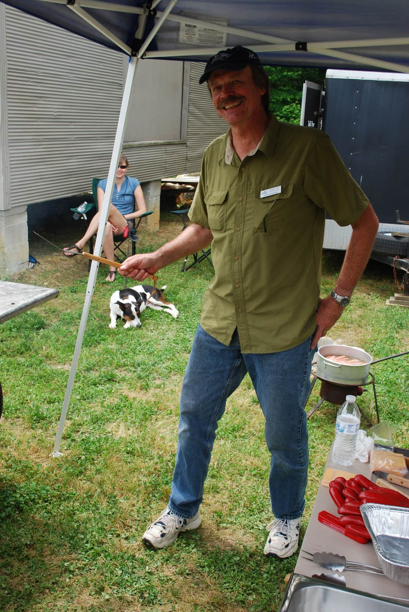 Chris Uhl, master meat burner