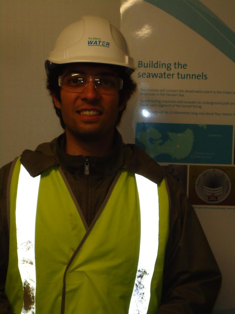 Sydney Water desalination plant
