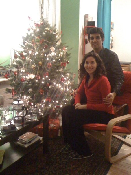 Lila and I on Christmas