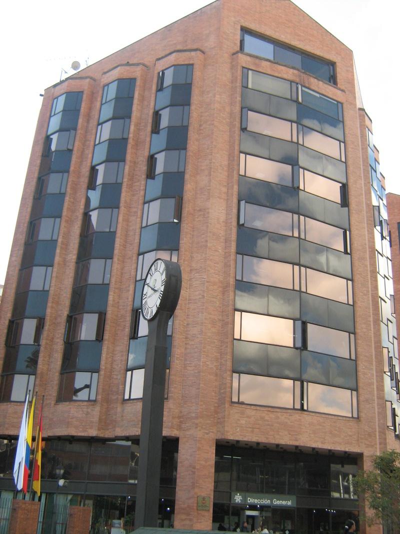 Edificio de la direccion general del sena bogota for Direccion ministerio del interior bogota