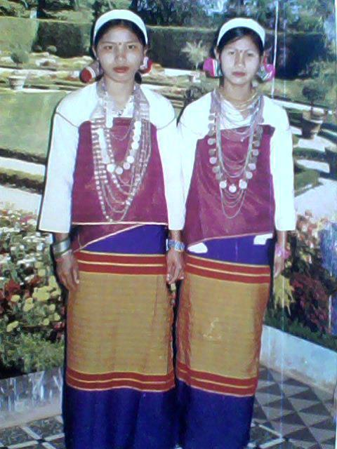 Tanchangya women of Tripura State of India