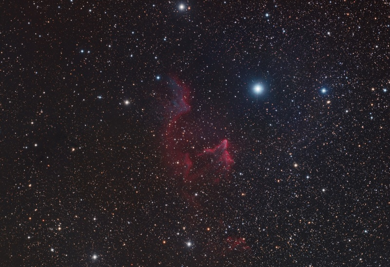 IC59 and IC63 - The Ghost of Cassiopeia