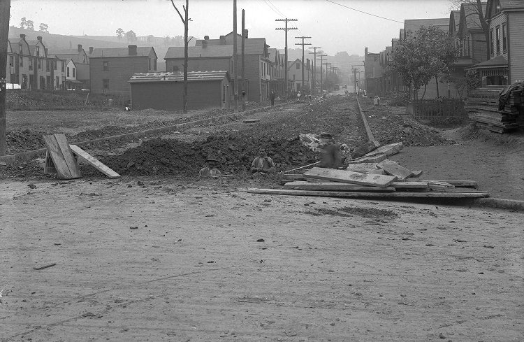 Kedron St. and N. Murtland  Sept. 1907