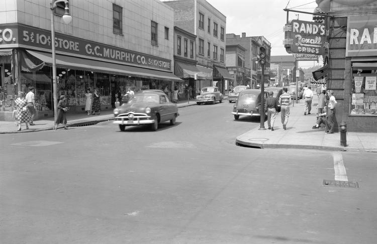 Homewood ave.  June 1950