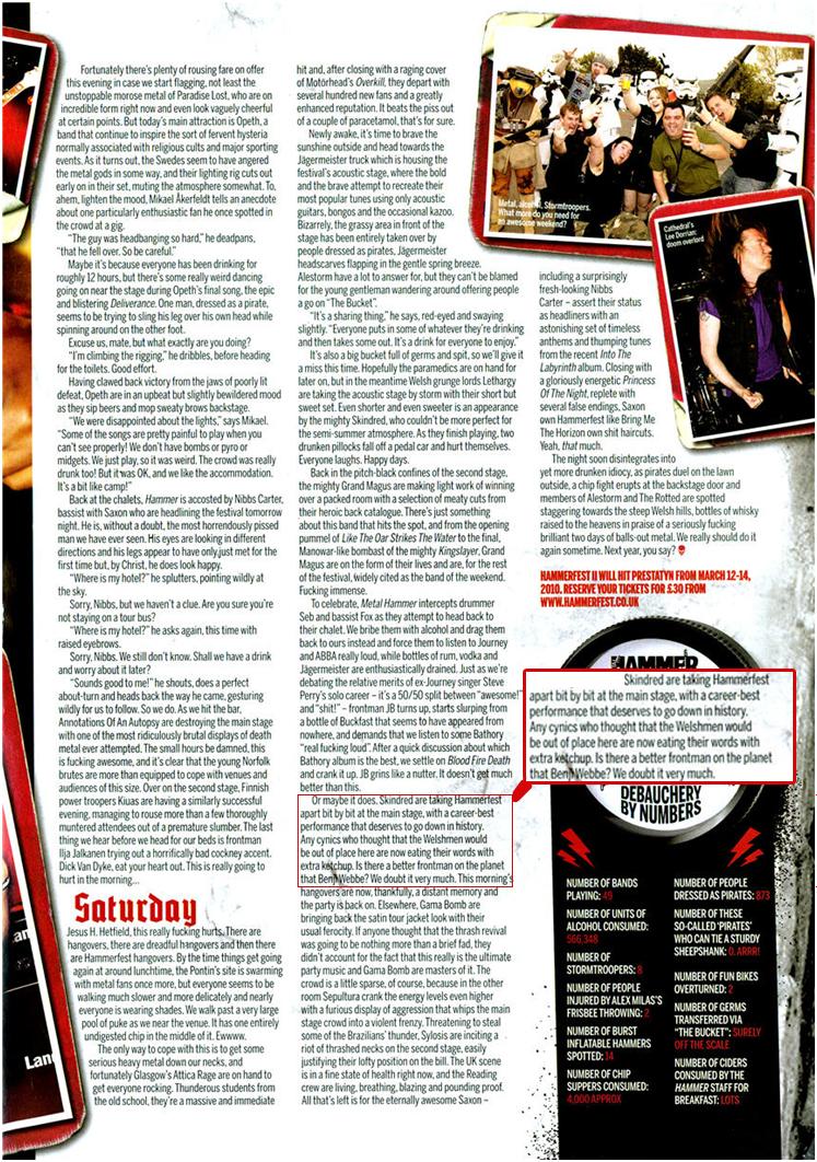 Metal Hammer scan