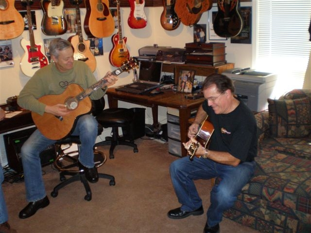 Tommy Emmanuel and Carlton