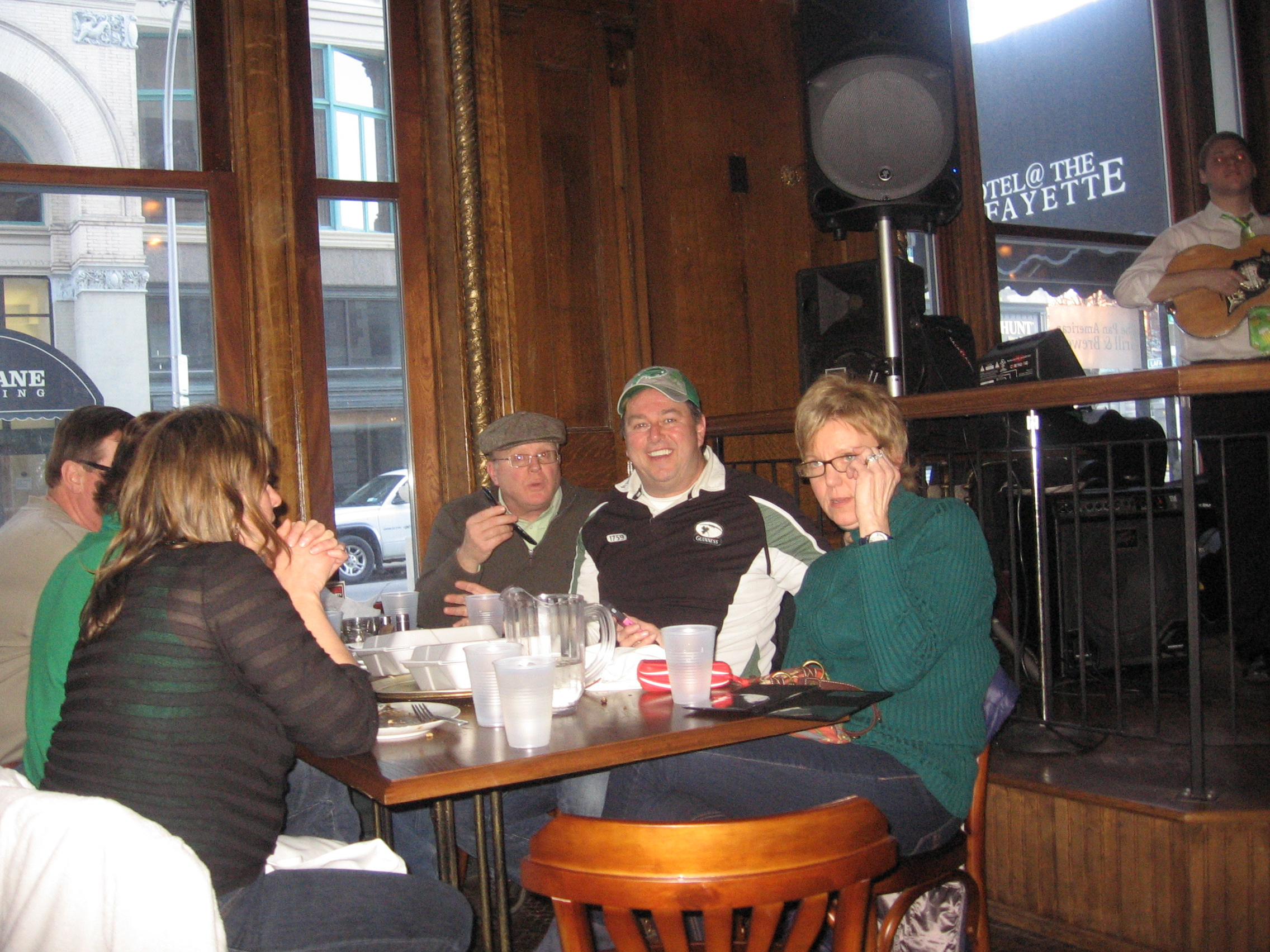 Lafayette Hotel - Buffalo - Pan AM Grill & Brewery - St. Pat's Post Parade Party
