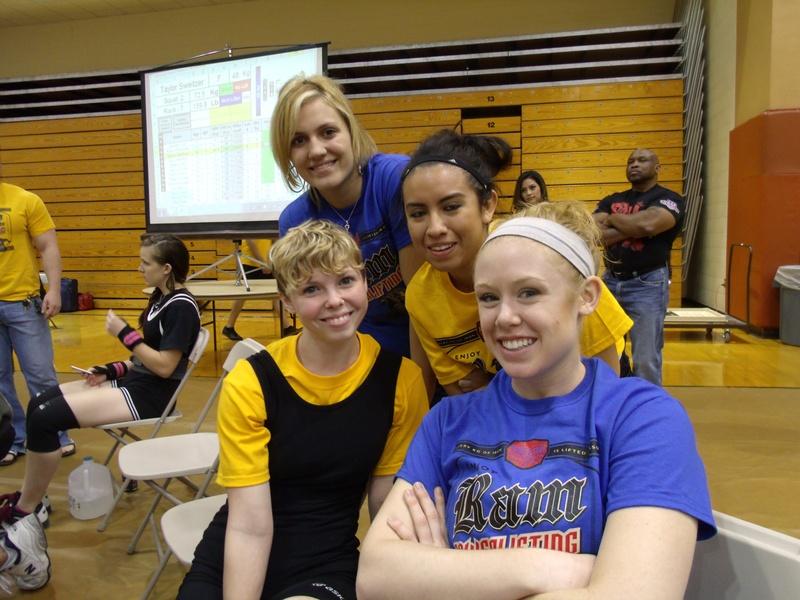 Ladies of ASU Powerlifting