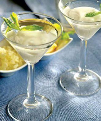 Cheers!Submarine Martini with Chios Mastiha Sugar Paste