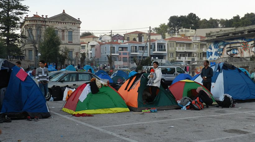This is the Cross Borders of Europe, Mytilene